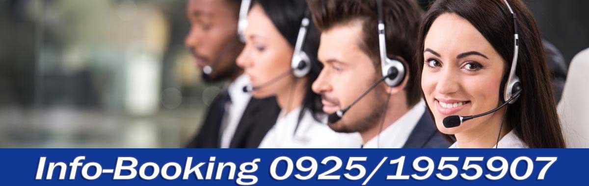 Chiama il nostro ufficio booking